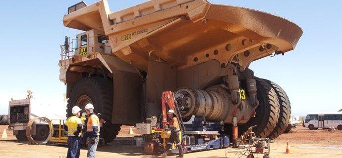 5.1 LaserBond® Deposition method offers superior REMAN Dump Truck Wheel Spindle.