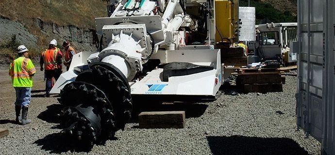 1.1 Mining Boom Cylinder Reclad & Repair